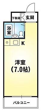 区分マンション-京都市東山区清水4丁目 間取り