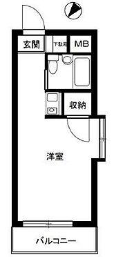 マンション(建物一部)-練馬区羽沢3丁目 間取り