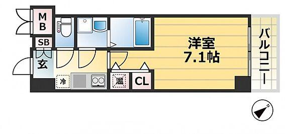 区分マンション-神戸市中央区八雲通1丁目 間取り