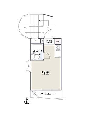 中古マンション-大田区西蒲田6丁目 間取り