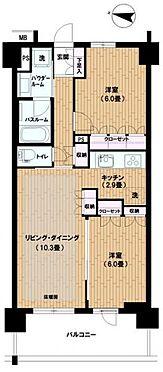 中古マンション-墨田区八広1丁目 間取り