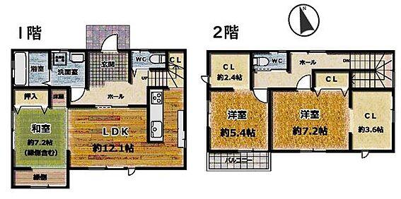 戸建賃貸-東海市高横須賀町5丁目 大容量の収納スペースが多数完備されています!