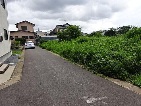 土地-千葉市若葉区小倉台6丁目 前面道路より北→南