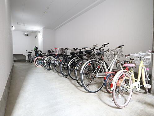 区分マンション-西宮市甲東園1丁目 駐輪場:使用料無料。空き有。区画の指定無。(2021年1月29日確認)