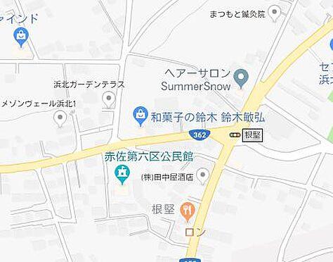 アパート-浜松市浜北区根堅 地図