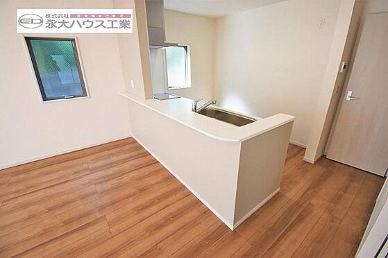 新築一戸建て-仙台市若林区南染師町 キッチン