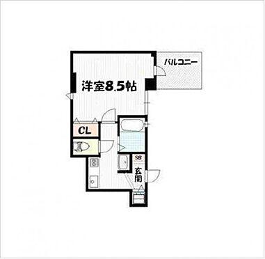マンション(建物一部)-京都市下京区七条通新町西入夷之町 間取り
