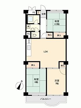 マンション(建物一部)-奈良市学園大和町 間取り