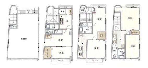 アパート-板橋区高島平 間取り