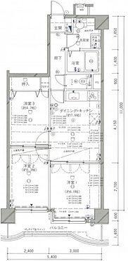 マンション(建物一部)-郡山市桑野5丁目 間取り図