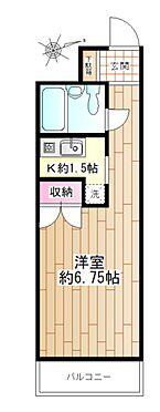 中古マンション-横浜市瀬谷区三ツ境 フローリングの洋室
