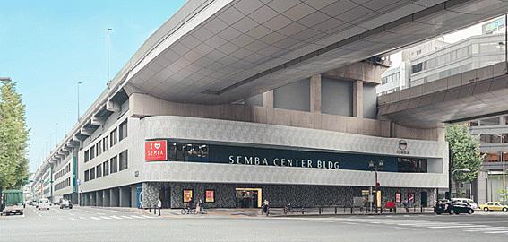 店舗事務所(建物一部)-大阪市中央区船場中央3丁目 外観