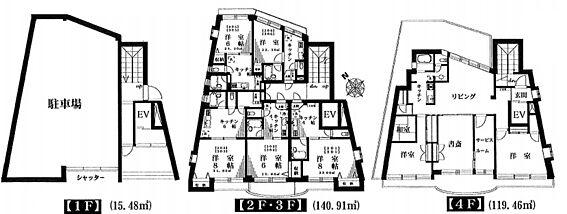 マンション(建物全部)-中野区東中野1丁目 間取り