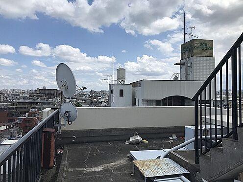 収益ビル-葛飾区立石1丁目 屋上(2021年7月撮影)