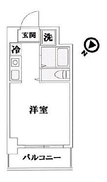 区分マンション-横浜市鶴見区鶴見中央5丁目 間取り
