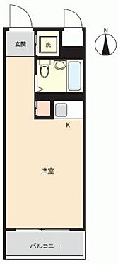 マンション(建物一部)-川崎市幸区鹿島田 間取り