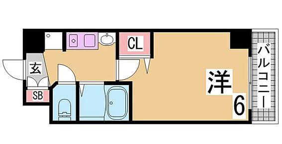マンション(建物一部)-神戸市中央区古湊通1丁目 人気の3点セパレート1K
