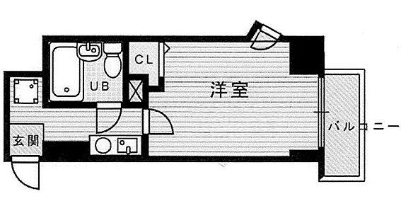 マンション(建物一部)-京都市下京区飴屋町 空間に広がりを与える出窓のあるプラン