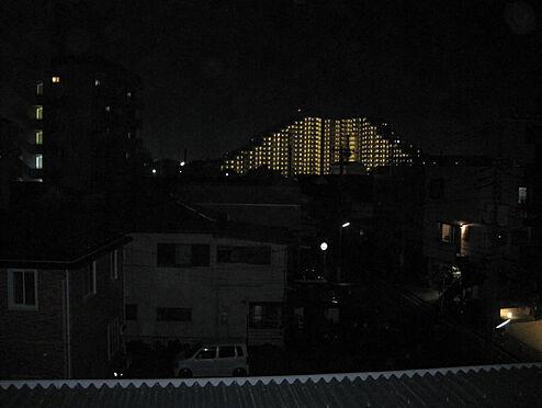 マンション(建物一部)-相模原市中央区矢部4丁目 夜景も美しく見えます。