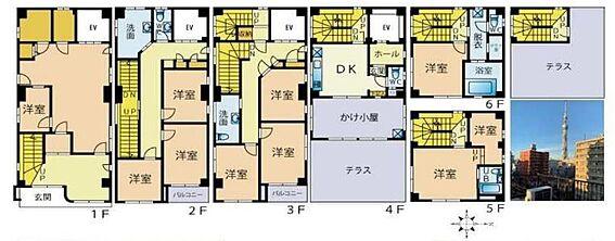 ビル(建物全部)-墨田区本所3丁目 間取り図