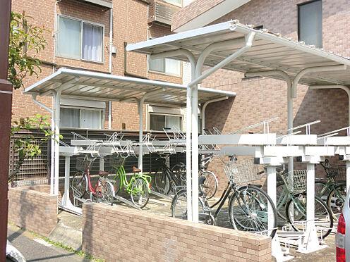 マンション(建物一部)-葛飾区亀有4丁目 きれいに整理された駐輪場