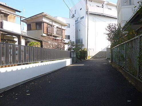 土地-鎌倉市小袋谷1丁目 前面私道部分風景