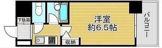 マンション(建物一部)-大阪市中央区松屋町 水回りをまとめた単身者向けプラン