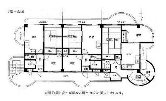 マンション(建物全部)-板橋区赤塚4丁目 間取り