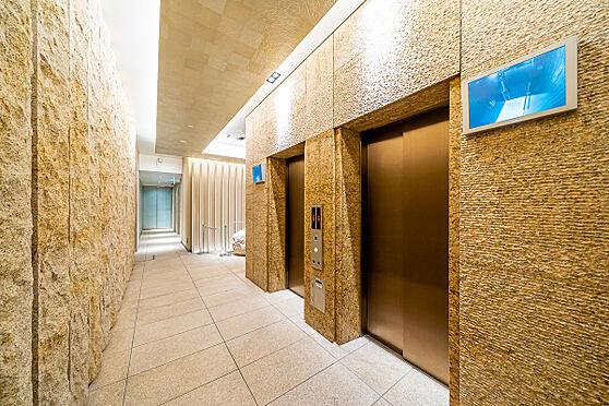 区分マンション-新宿区南元町 エレベーター