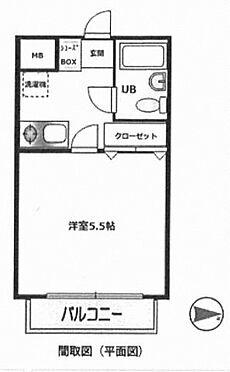 中古マンション-横浜市金沢区六浦南5丁目 間取り