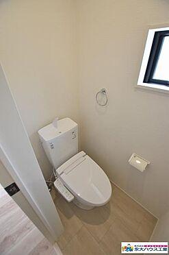 戸建賃貸-仙台市宮城野区岩切2丁目 トイレ