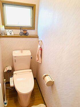 戸建賃貸-名古屋市千種区宮根台1丁目 トイレには快適な温水洗浄便座付いてます!