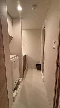 中古マンション-新宿区下落合3丁目 洗面室・洗濯機室内置き場