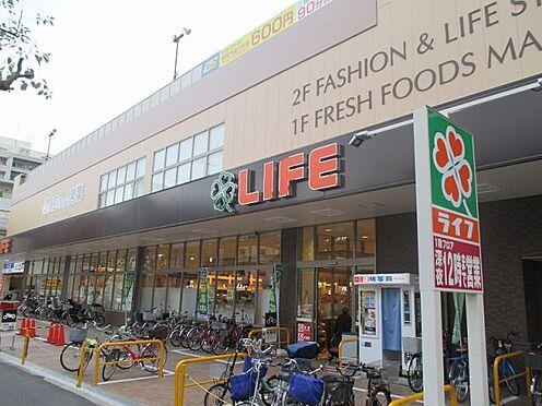 中古マンション-大阪市東成区東中本2丁目 ライフ緑橋店まで徒歩4分です