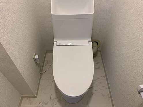中古マンション-豊田市下林町3丁目 トイレも新調されています!清潔にお使いいただけます。
