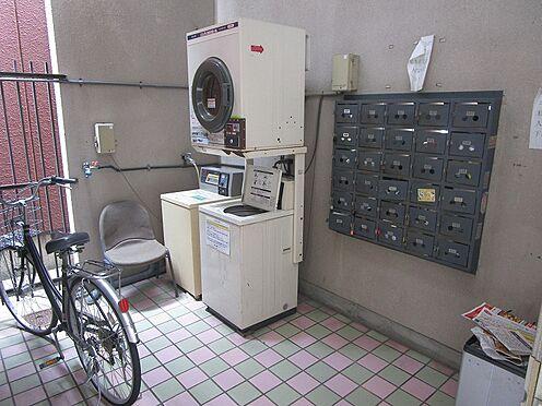 一棟マンション-大阪市東住吉区今川7丁目 棟内にコインランドリーがあり大変便利です