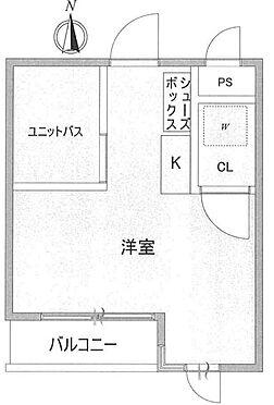 中古マンション-世田谷区八幡山1丁目 間取り