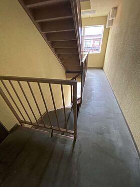 アパート-旭川市永山六条3丁目 階段室