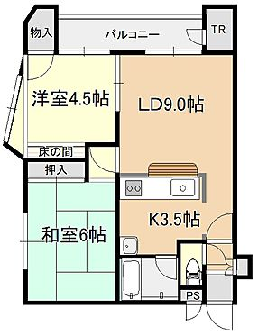 マンション(建物一部)-札幌市白石区南郷通1丁目北 2LDK(49.64平米)