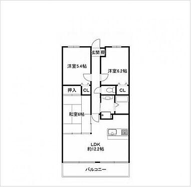 マンション(建物一部)-神戸市北区大原3丁目 間取り