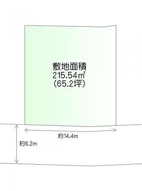 土地-仙台市青葉区貝ケ森3丁目 区画図