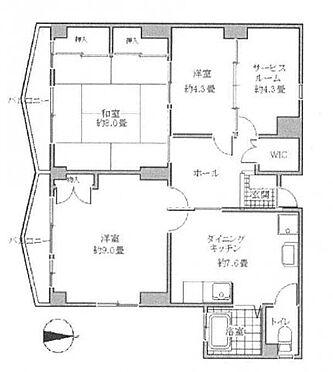 中古マンション-台東区松が谷1丁目 間取り