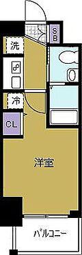 マンション(建物一部)-大阪市西区九条南2丁目 水回りをまとめたスムーズな動線