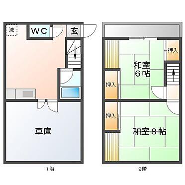 アパート-津山市田町 間取りと相違がある場合は現状を優先