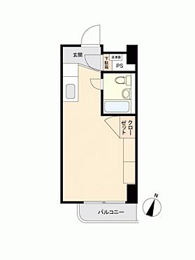 中古マンション-渋谷区幡ヶ谷2丁目 間取り