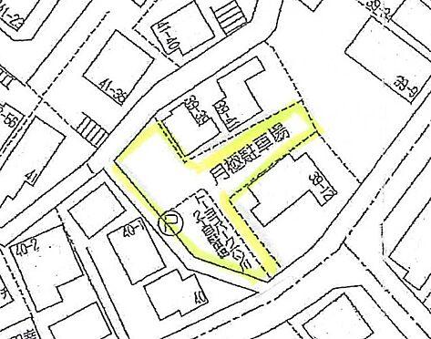 土地-横浜市南区六ツ川2丁目 区画図