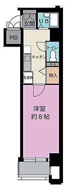 マンション(建物一部)-京都市上京区西船橋町 単身向けの1K