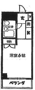 マンション(建物一部)-横浜市磯子区中原2丁目 間取り