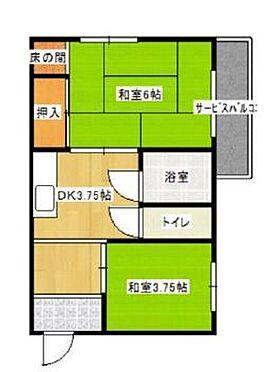 一棟マンション-東大阪市上小阪1丁目 間取り
