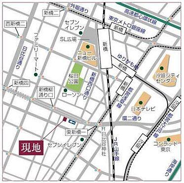 ビル(建物全部)-港区新橋4丁目 地図
